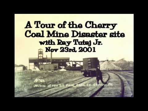 Cherry Coal mine tour (2002) before all was gone.