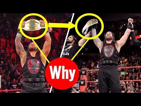 Why Roman Reigns Won Intercontinental Championship ? Roman Vs The Miz Raw 11/20/2017 20 November