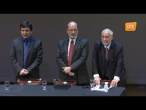Entrega Dr. Honoris Causa UCR a Joseph Stiglitz, Premio Nobel de Economía