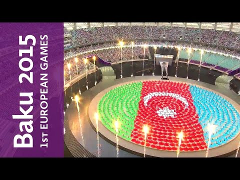 Baku 2015 European Games Opening Ceremony highlights | Baku 2015