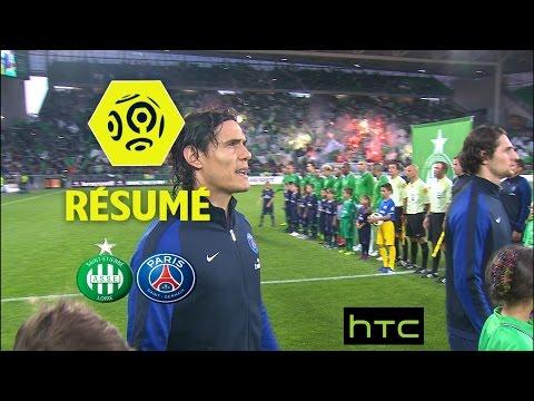 AS Saint-Etienne - Paris Saint-Germain (0-5)  - Résumé - (ASSE - PARIS) / 2016-17