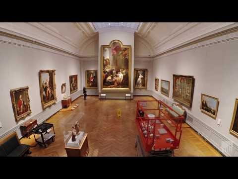 "A Gallery Takes Shape: ""Artists on the Move in 18th-Century Europe."""