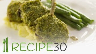 Lamb Cutlets Herb Crust Recipe