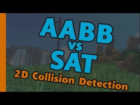 AABB vs SAT - 2D Collision Detection