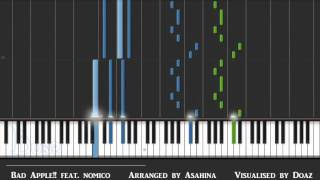 (Synthesia Piano) Bad Apple!!, feat. nomico, arranged by Asahina audio resynthesized
