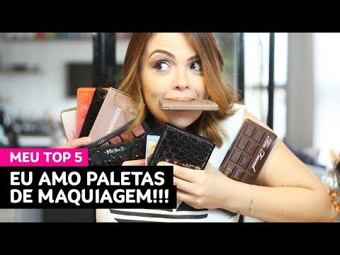 Minhas 5 paletas de maquiagem preferidas! • Karol Pinheiro
