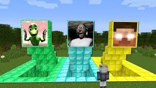 YANLIŞ KORKU MAĞARAYI SEÇERSEN ÖLÜRSÜN! 😱 - Minecraft
