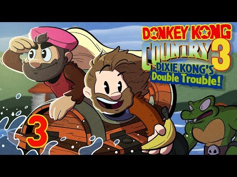 Donkey Kong Country 3 | Let's Play Ep. 3 | Super Beard Bros.