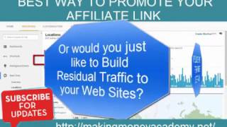 How To Get Unlimited Website Traffic To Your Affiliate Link 2017