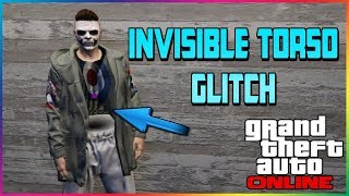 New Invisible Torso Glitch 1.43 (GTA 5 ONLINE) ALL CONSOLES!