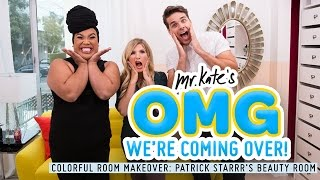 Small and Colorful Beauty Room Makeover with PatrickStarrr