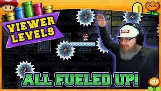 ALL FUELED UP! | Super Mario Maker 2 Super Viewer Levels with Oshikorosu! [18]
