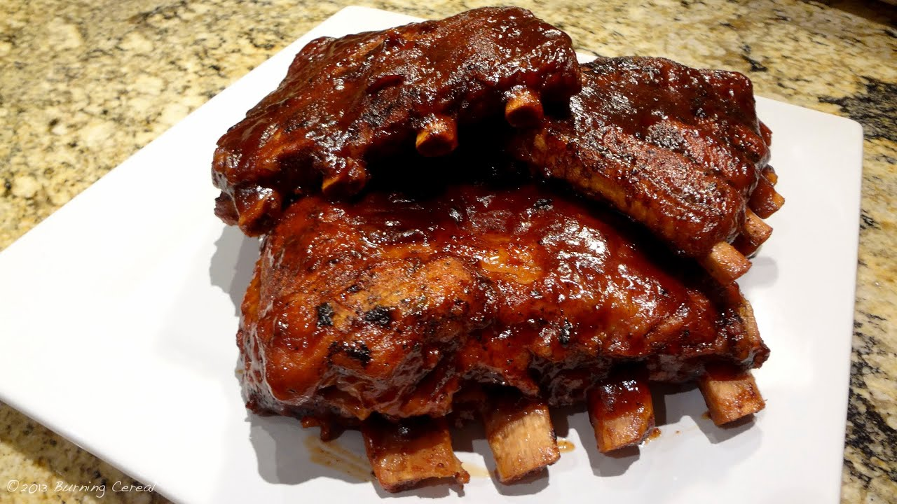 Grilled pork side ribs recipes