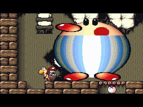 SUPER MARIO WORLD 2 YOSHI'S ISLAND - Gameplay do Início!