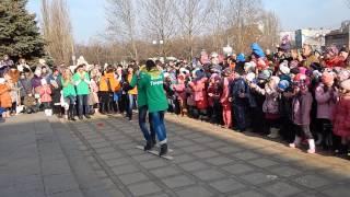 Лыжные гонки в Корабельном районе (видео