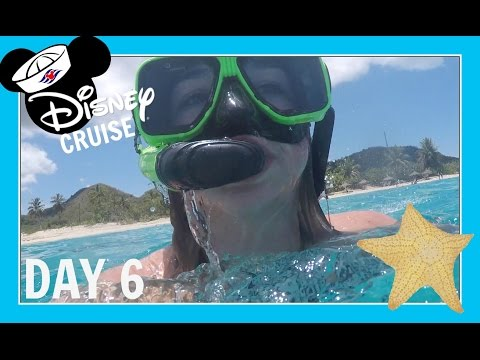 DISNEY CRUISE VACATION | DAY 6: SNORKELING IN ANTIGUA | Flippin' Katie