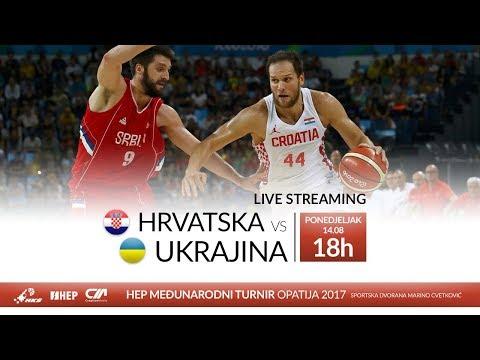 Hrvatska vs. Ukrajina - HEP Međunarodni turnir Opatija 2017 (M) - UŽIVO