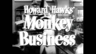 Marilyn Monroe and Cary Grant: Monkey Business (1952)
