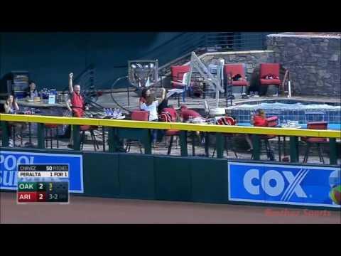 MLB Home-Runs In D-Backs Pool (HD)