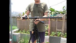 Tripod Pole Horizontal AE-61 Transverse Center flatlay boom arm