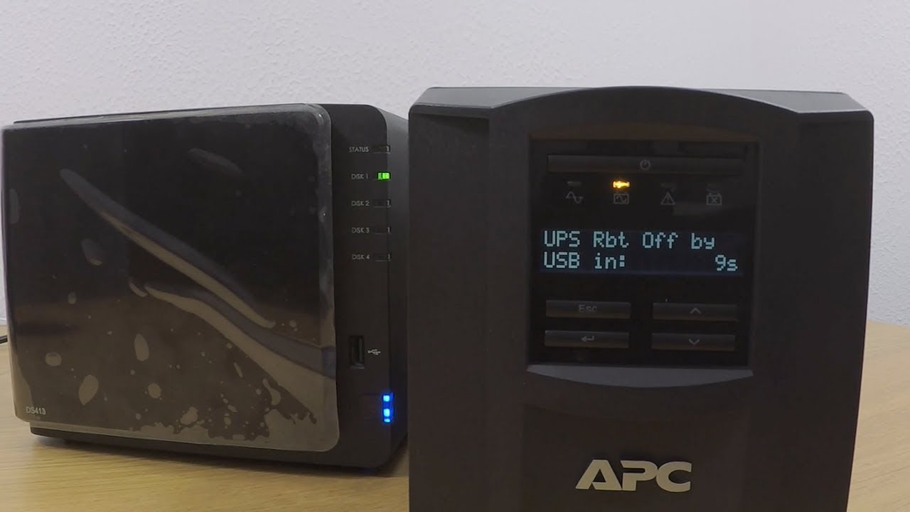 How to setup a Synology NAS Part 16: Setting up and configure a  Uninterruptible Power Supply