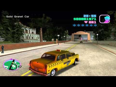 GTA Vice City: V.I.P (Taxi Mission #1/3) [HD]