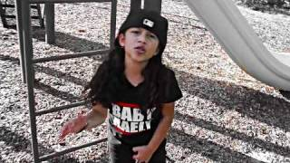 baby kaely on the playground quick vid for all the kool kidz