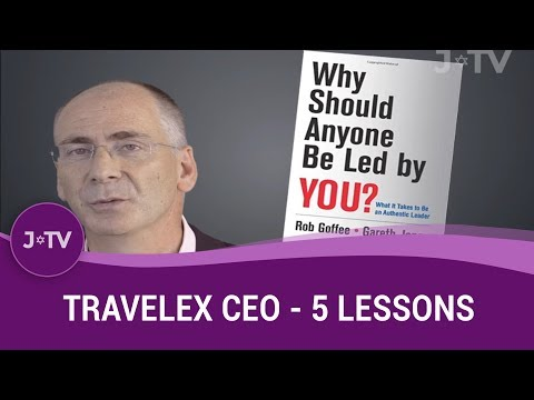 Travelex CEO - 5 Things I've Learned in Business So Far