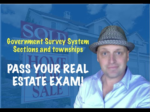 Government Survey System, Sections and Townships