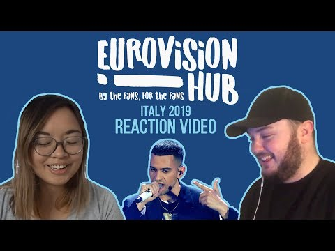 Italy | Eurovision 2019 Reaction Video | Mahmood - Soldi