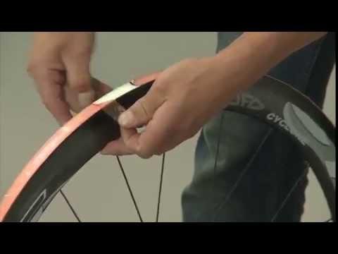 TUFO How to mount road tubular tyre