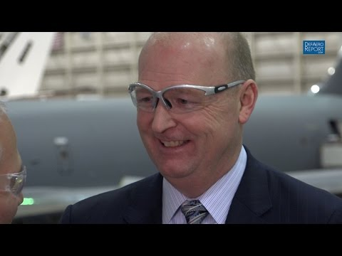 Boeing's Hafer on KC-46A Tanker Program, Production, Features & Global Markets