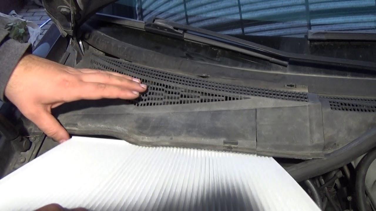 воздушный фильтр на печку опель омега б