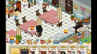 My Cafe on Facebook's Cafe world