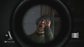 Sniper Elite V2: Brutal Shots & High Action Gameplay - Compilation Vol.1 (Xbox One X)