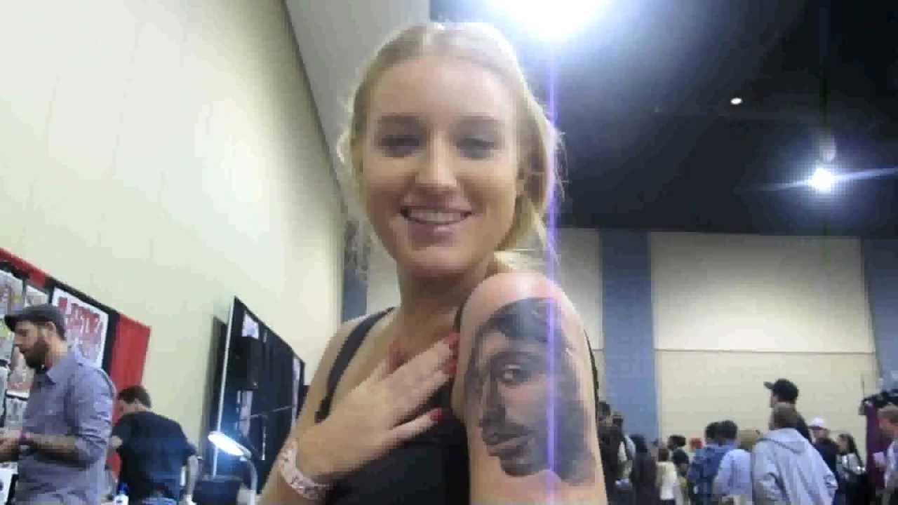 Getting Tupac Shakur Tattoo D On Her Arm Sydney S Hip Hop Journey Youtube