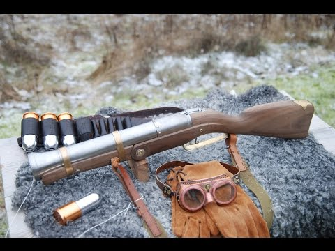 Airsoft Blunderbuss in action!