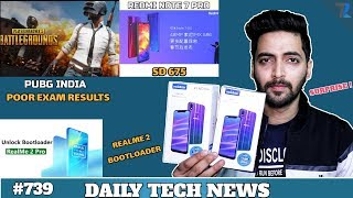 PUBG India BAN,Poco F2 UD-Fingerprint,Redmi Note 7 Pro SD 675,Realme 2 Pro Bootloader,Vivo Offer#739