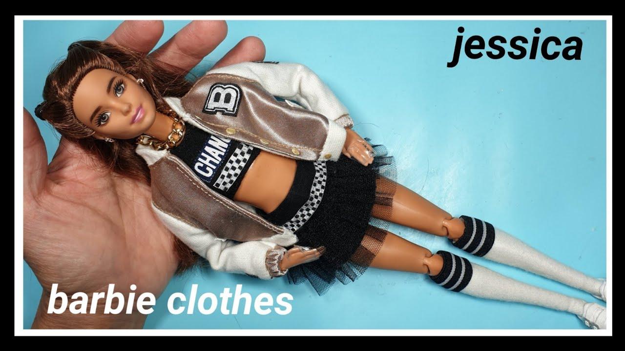 Download 바비인형옷만들기(점퍼)-barbiedoll, barbie