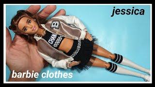 바비인형옷만들기(점퍼)-barbiedoll, barbi…