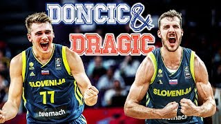 Luka Doncic & Goran Dragic putting on a SHOW at EuroBasket!