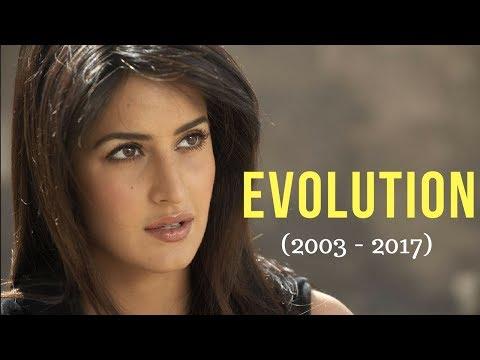Katrina Kaif Evolution (2003 - 2017)