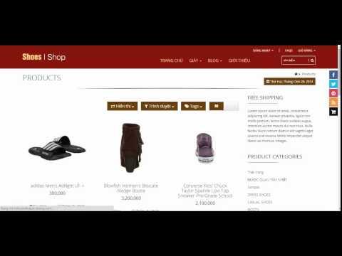 Haravan   Hướng dẫn TẠO MENU từ website haravan
