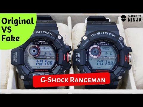 G-Shock Rangeman Original VS Fake Comparison 2019