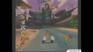 Crash Nitro Kart GameCube Gameplay