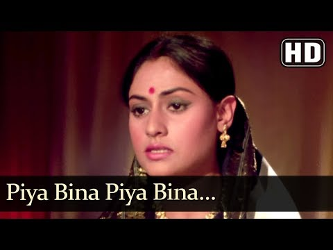 Piya Bina Piya Bina (HD) - Abhimaan Song ...