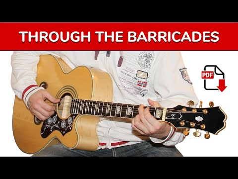 How To Play Through The Barricades by Spandau Ballet on Guitar (intro + TAB)