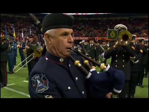 2017 Salute to Veterans Half Time Show