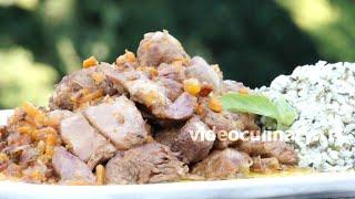 Баранина с луком и морковью - Рецепт Бабушки Эммы