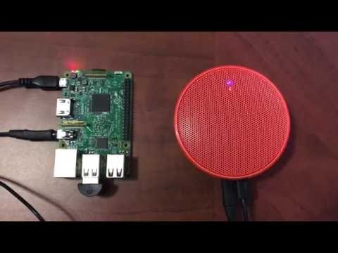 Raspberry Pi and Alexa Voice Service